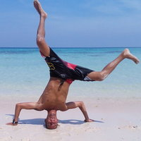 prof de de roller  acrobatique champion de France de roller acrobatique 2003/2004