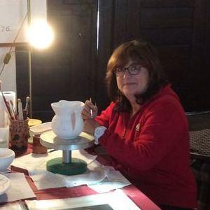 nadia crosne essonne artiste peintre c ramiste donne cours de decoration sur c ramique et. Black Bedroom Furniture Sets. Home Design Ideas