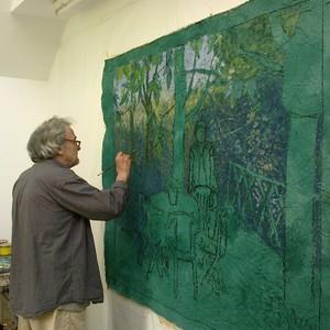 Carlos et tania douville sur andelle eure artiste for Artiste peintre chinois